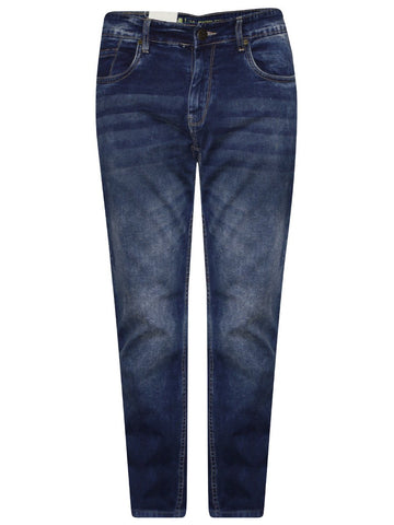 Red Tape Blue Slim Stretch Jeans