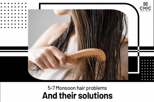 Monsoon hair problems and solutions