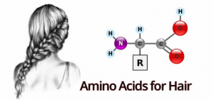 Amino acids for hair