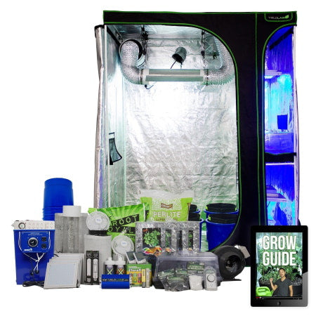 4x5ft Complete Perpetual HID Hydro Indoor Grow Tent System.
