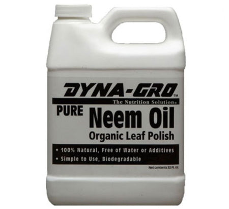 1 gallon container of Dyna-Gro Neem Oil to prevent and treat pest infestations in an indoor grow room or grow tent.
