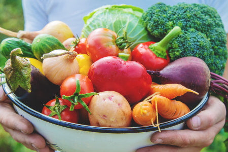 Benefits of growing your own fruits and vegetables.