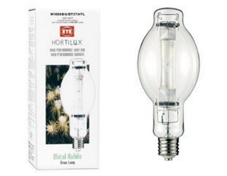 Hortilux Metal Halide (MH) Lamp, 1000W, BT37 Small, Universal for indoor grow rooms and grow tents