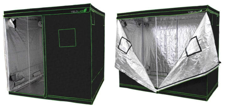 Large Yield Lab Grow Tents.