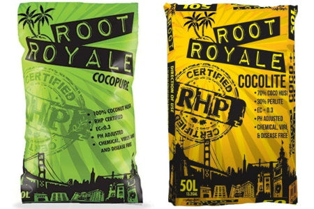 Root Royale grow mediums for hydroponics.