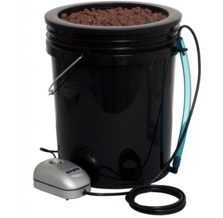 Root Spa 5 Gal DWC Bucket System for indoor grow tents and grow rooms.