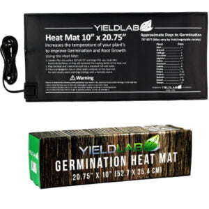 Heat mat for seed and clone grow rooms.