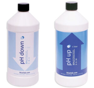 pH Down and pH Up solution for plants suffering from nutrient lockout.