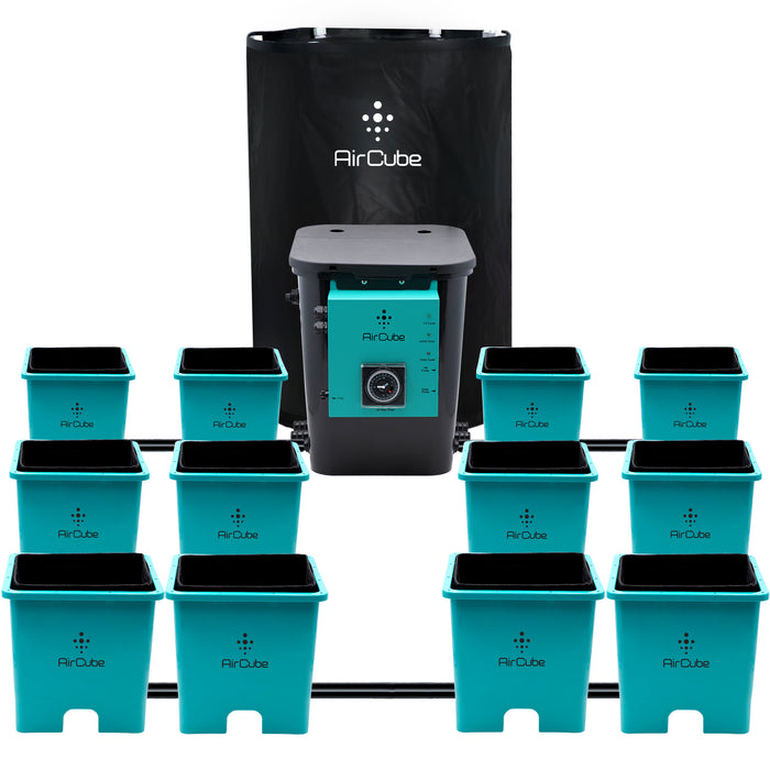 Front view of AirCube Oxygen Grow System