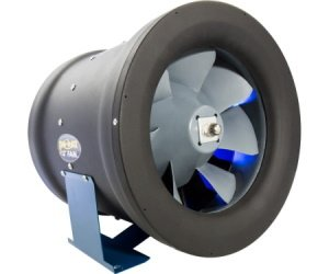 """This is a picture of a Phat Fan 12"""", 1708 CFM for an indoor grow room or grow tent."""