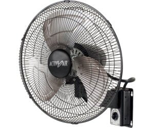 """This is an image of a Active Air Heavy Duty 16"""" Metal Wall Mount Fan for an indoor grow tent or grow room."""