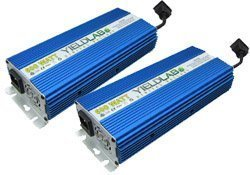 Profile of 2 Yield Lab ballasts side by side