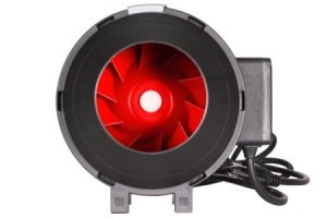 This is an image of a 390 CFM grow room fan with controller.