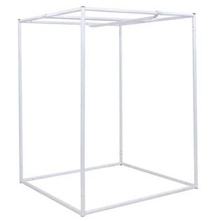 This is a metal grow tent frame.