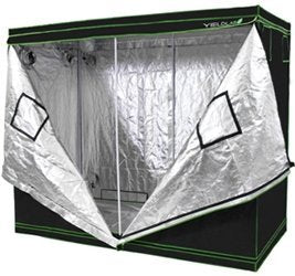 """This is the Yield Lab 96"""" x 48"""" x 78"""" Reflective Grow Tent."""