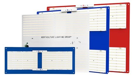 Various Horticulture Lighting Group LED grow lights