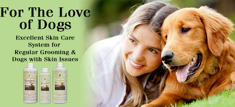 For The Love of Dogs Skin Care Products