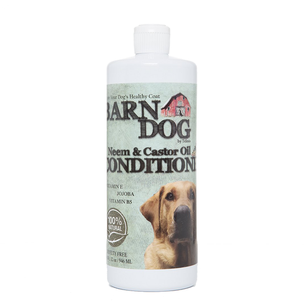 Equiderma Barn Dog Conditioner with Neem and Castor Oil, Pet Grooming Supplies