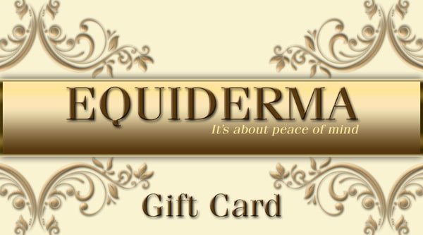 Gift Card - Equiderma | Natural Horse Care | Pet Care Products
