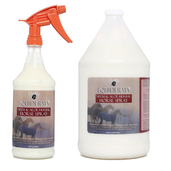 Buy 1 Gallon of Neem & Aloe Natural Horse Spray, Get  1 Quart FREE!