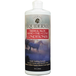 Equiderma neem and aloe horse conditioner for mane tail and coat
