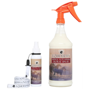 Neem & Aloe Natural Horse Spray PLUS FREE 4oz Travel Size