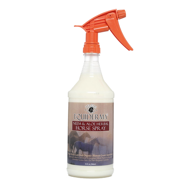 Equiderma neem and aloe natural horse spray 32oz