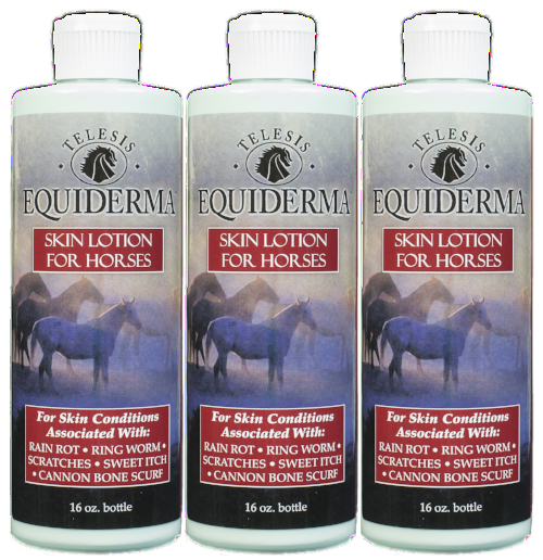 Equiderma:  Skin Lotion Tri-Pack - Equiderma | Natural Horse Care | Pet Care Products  - Equiderma