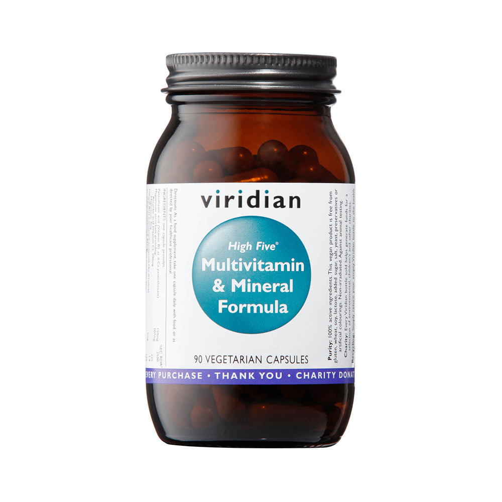 Viridian High Five Multivitamin & Mineral Formula, 90 VCapsules