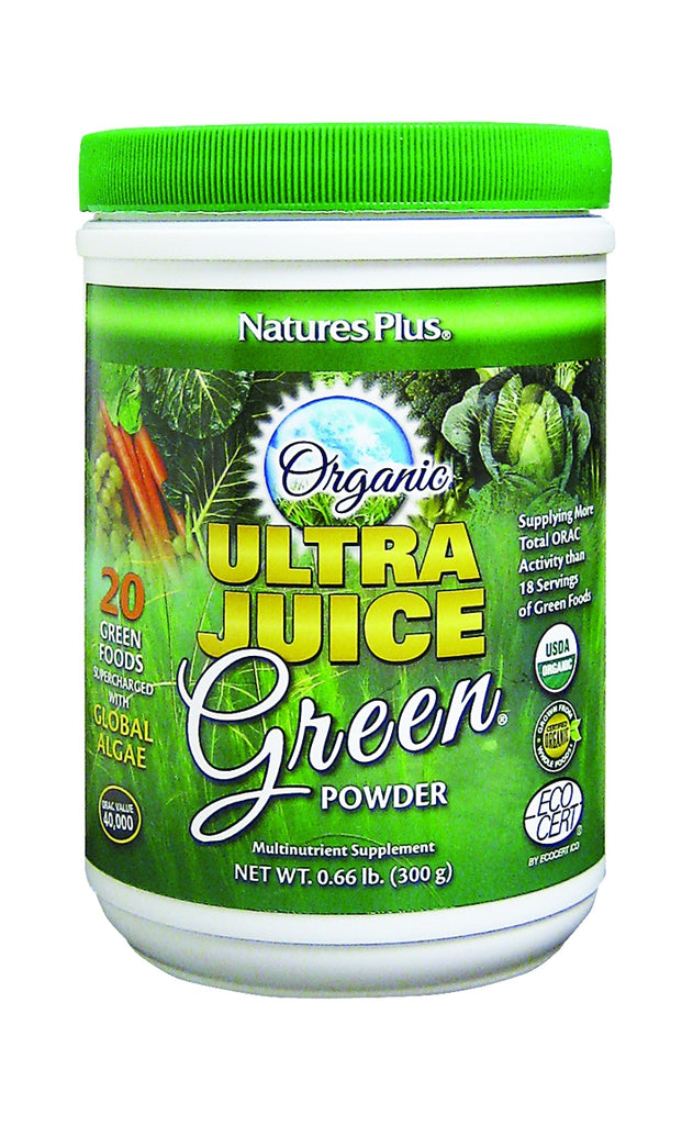 Nature's Plus Ultra Juice Organic Green Drink, 300gr