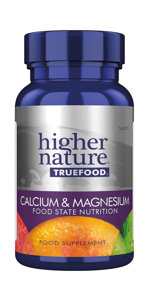 Higher Nature True Food Calcium & Magnesium, 120Tabs