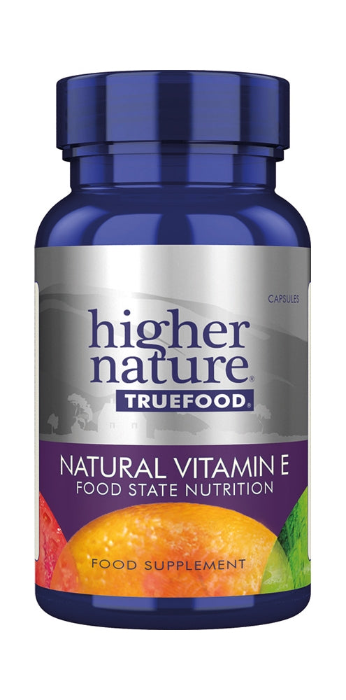 Higher Nature True Food Natural Vitamin E, 30Tabs