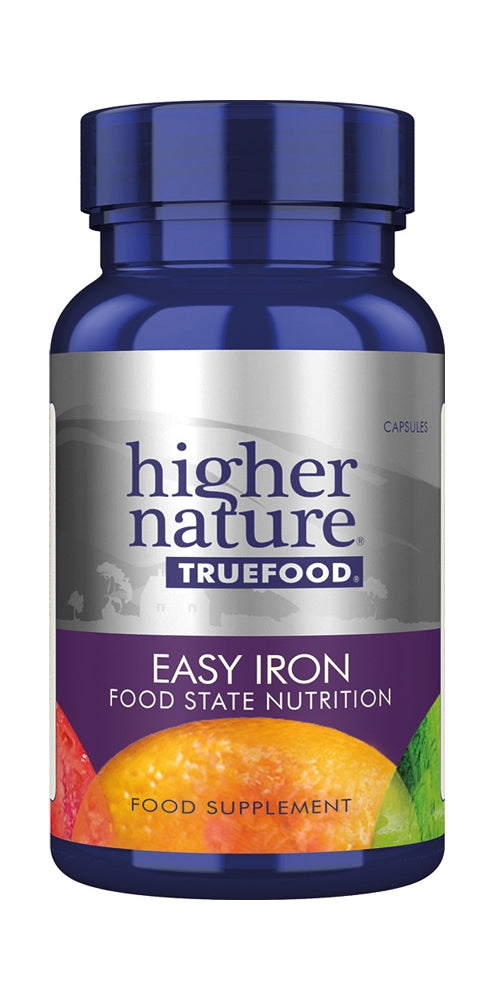 Higher Nature True Food Easy Iron, 30Caps