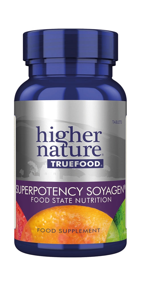 Higher Nature True Food Super Potency Soyagen, Vanilla, 90Tabs