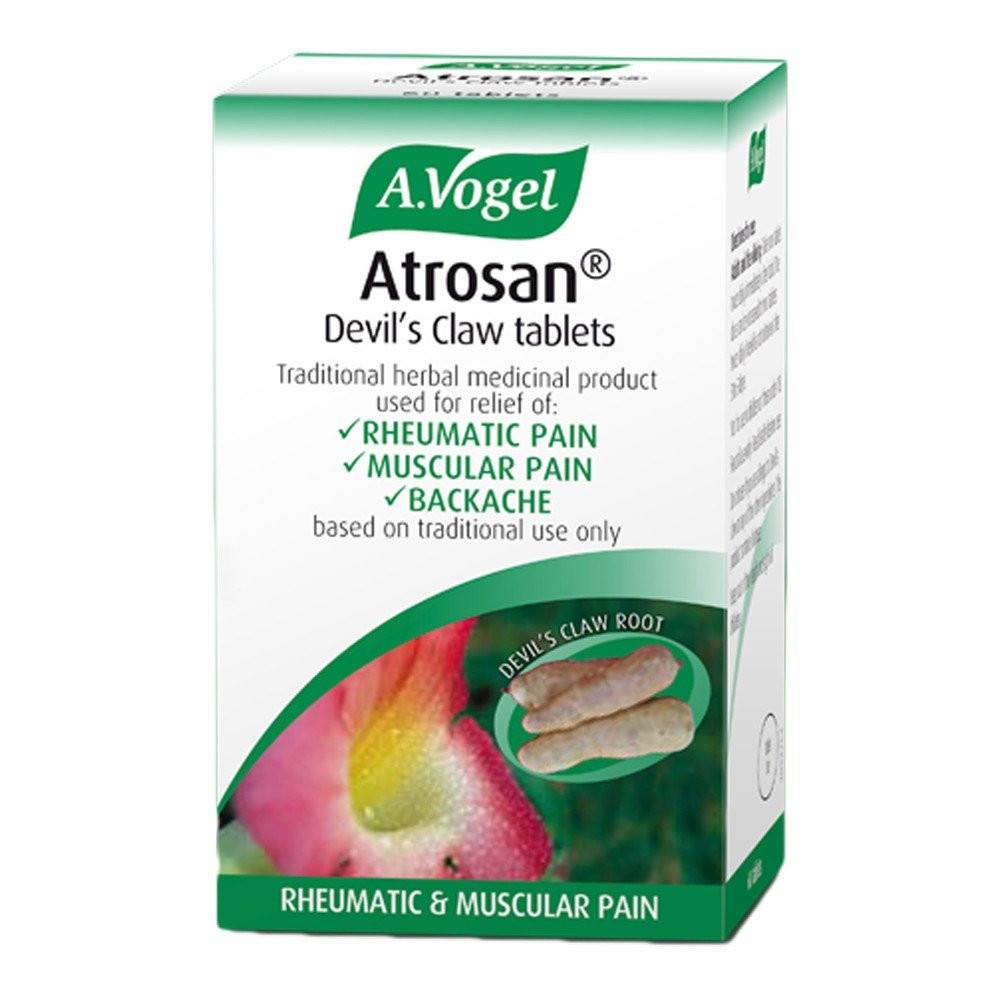 A.Vogel Atrosan Devil's Claw 481 mg 60 Tablets - Lifestyle Labs