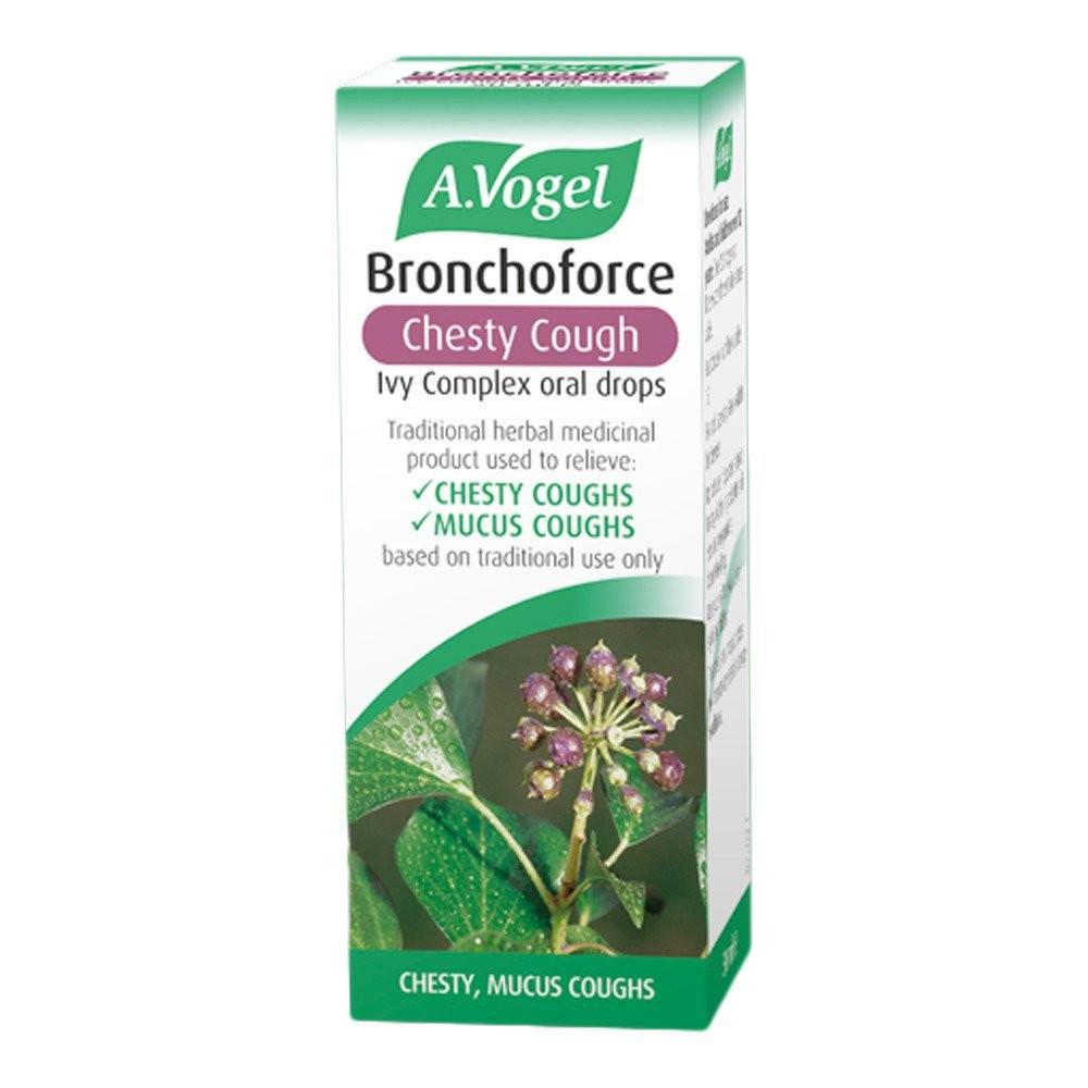 A.Vogel Bronchoforce Ivy-Complex 376 mg Oral Drops 50 ml Liquid - Lifestyle Labs