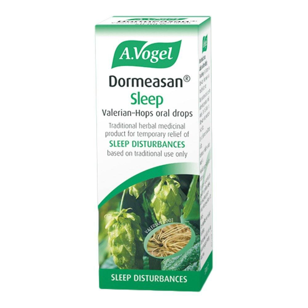 A.Vogel Dormeasan Sleep Valerian-Hops Oral Drops 15 ml Liquid - Lifestyle Labs