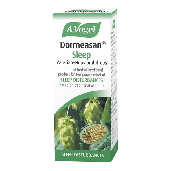 A.Vogel Dormeasan Sleep Valerian-Hops Oral Drops 50 ml Liquid - Lifestyle Labs