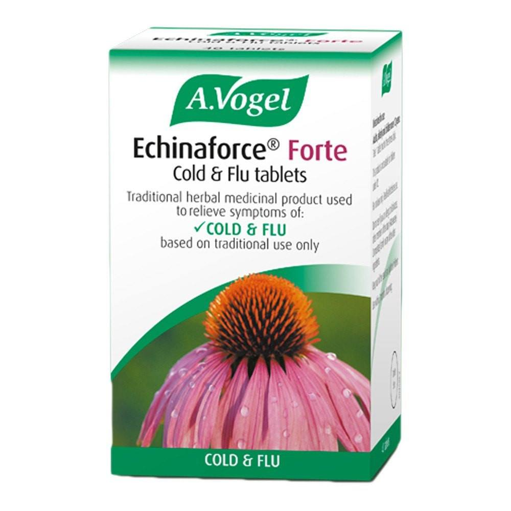 A.Vogel Echinaforce 1140 mg Forte Cold & Flu 40 Tablets - Lifestyle Labs