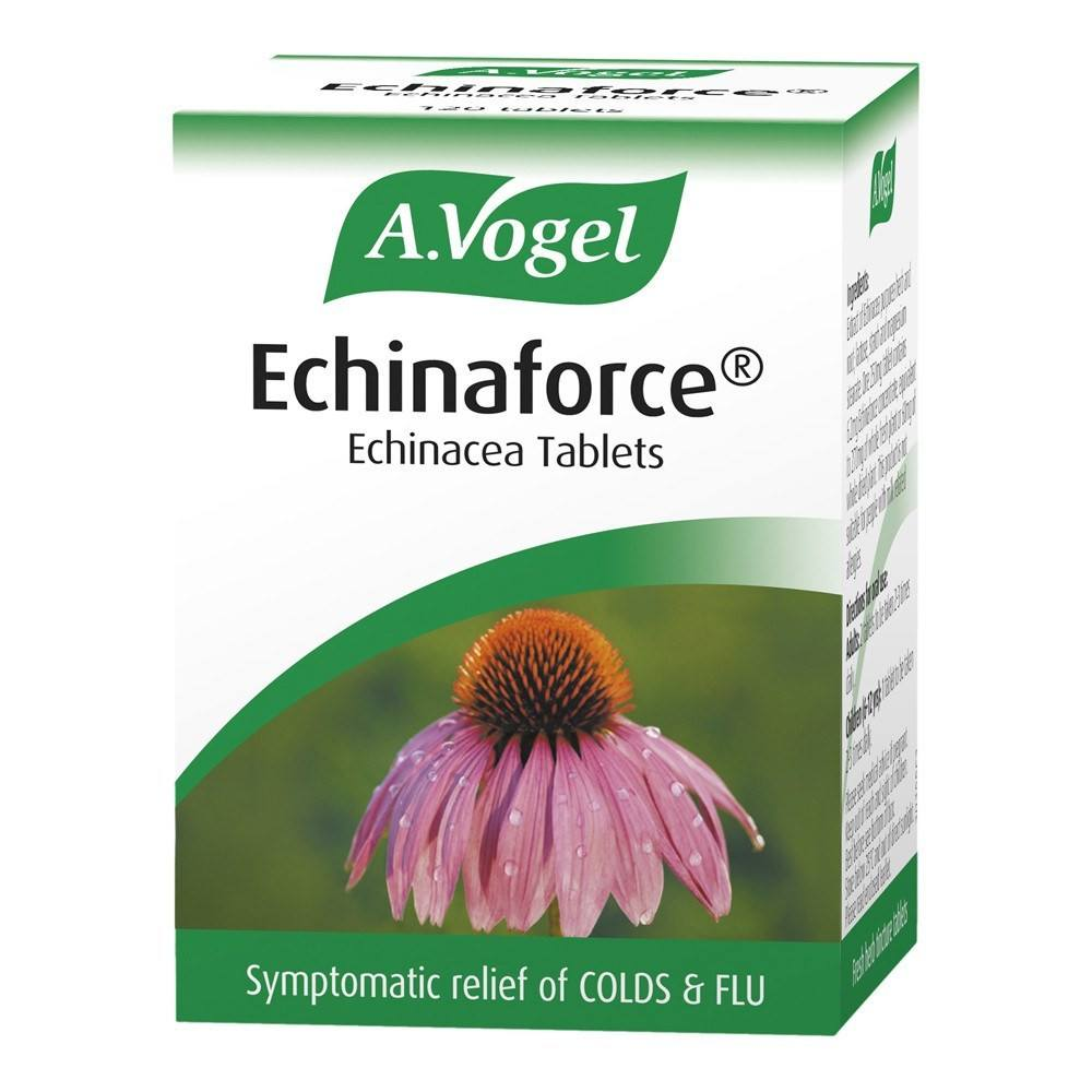 A.Vogel Echinaforce 380 mg Cold & Flu Tablets 40 Chewables - Lifestyle Labs