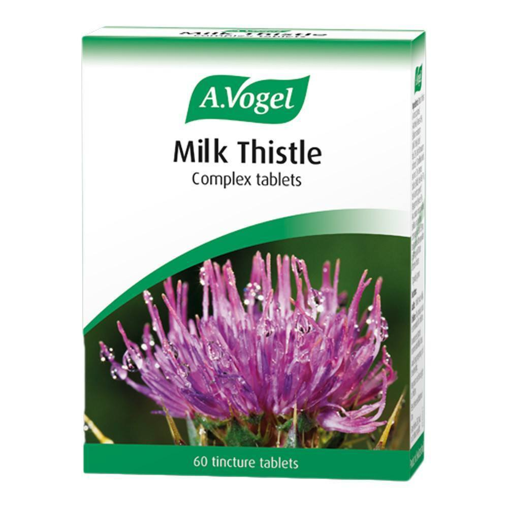 A.Vogel Milk Thistle Complex 60 Tablets - Lifestyle Labs