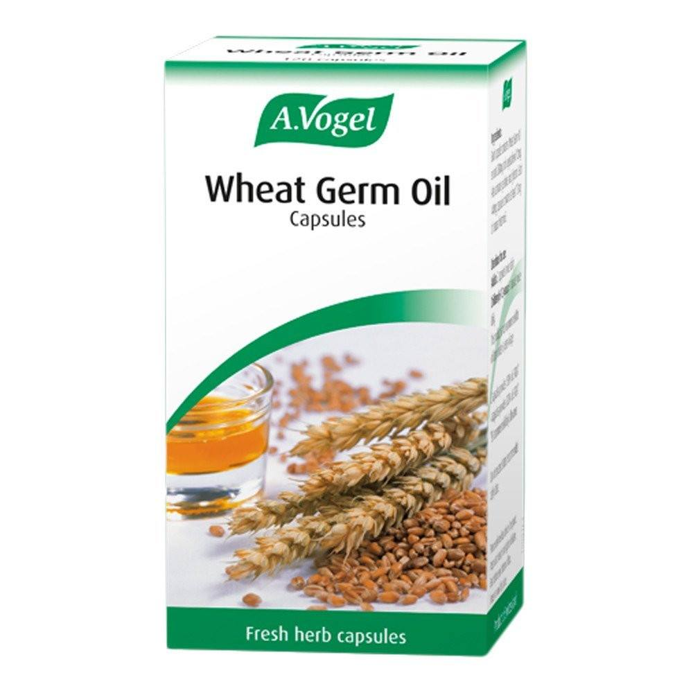 A.Vogel Wheat Germ Oil 120 Capsules - Lifestyle Labs