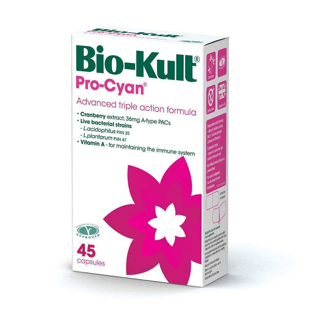 Bio-Kult Pro-Cyan 500 Million 45 Capsules - Lifestyle Labs
