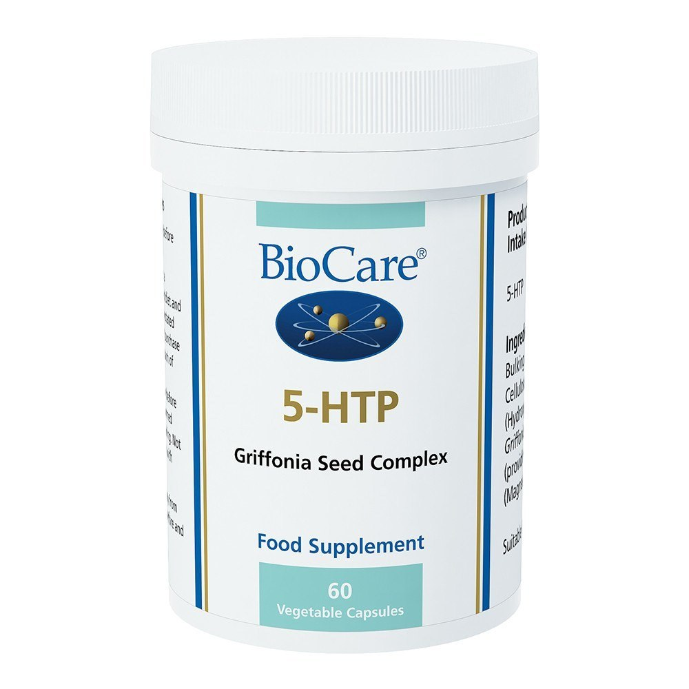 BioCare 5-HTP 50 mg 60 Capsules - Lifestyle Labs