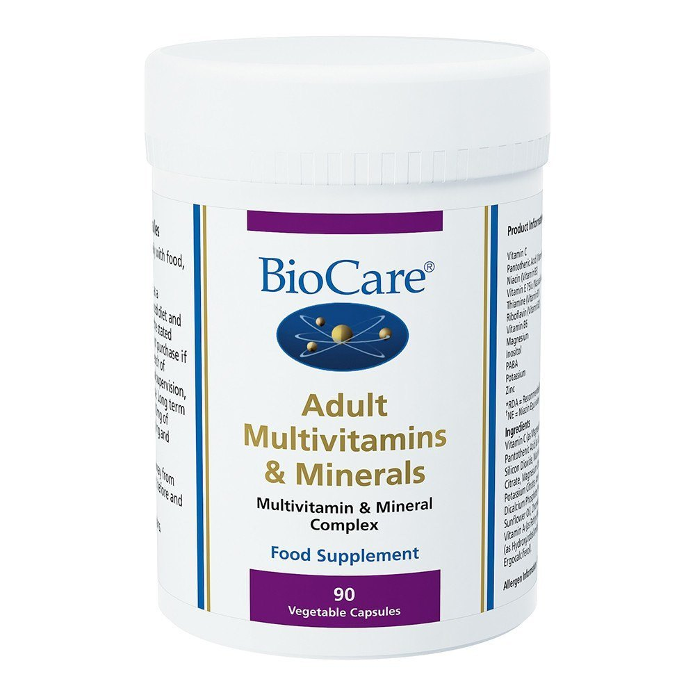 BioCare Adult Multivitamins and Minerals 90 Capsules - Lifestyle Labs