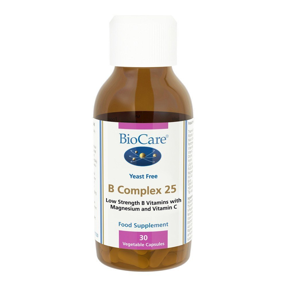 BioCare B Complex 25 mg 30 Capsules - Lifestyle Labs