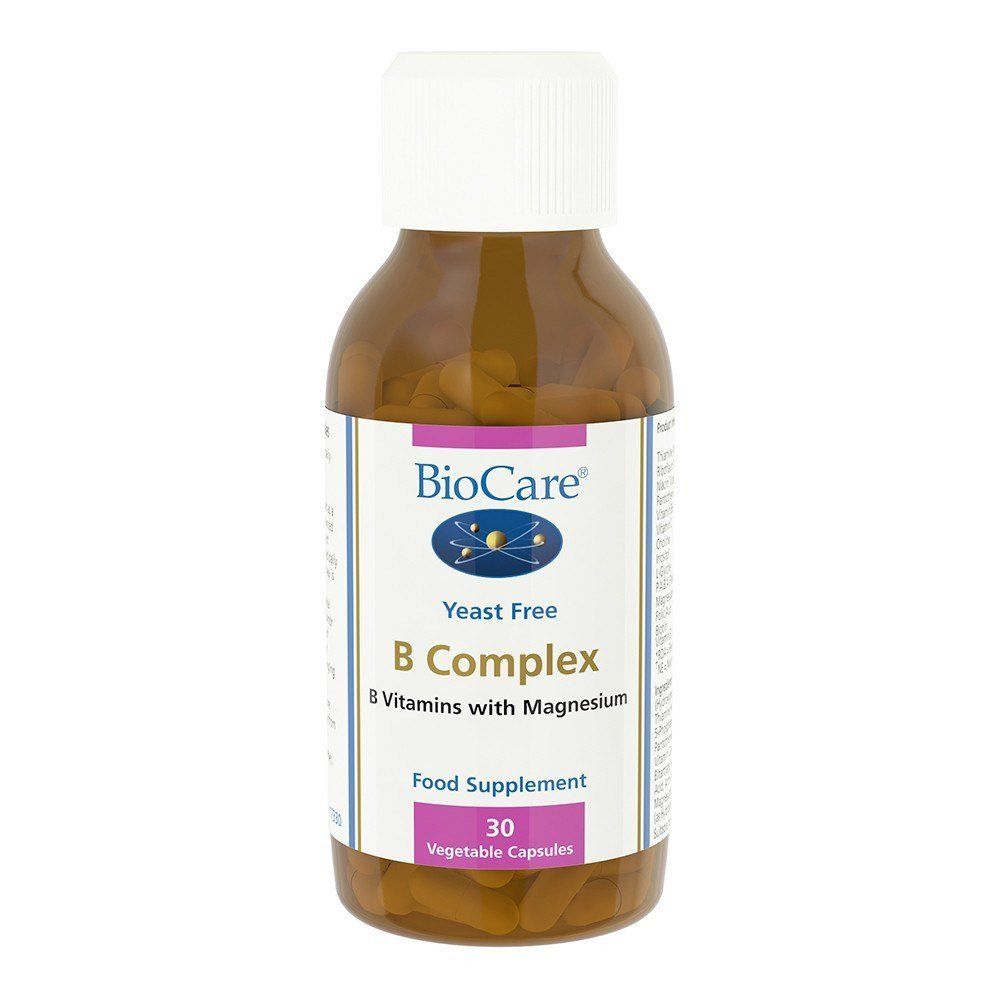 BioCare B Complex 50 mg 30 Capsules - Lifestyle Labs