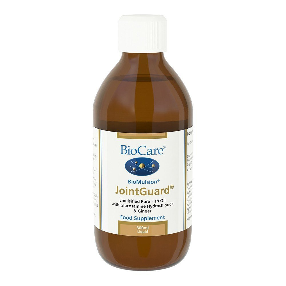 BioCare BioMulsion JointGuard® Omega-3 & Glucosamine 300 ml Liquid - Lifestyle Labs