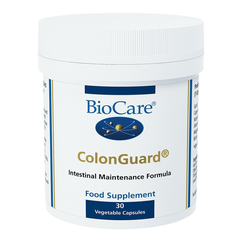 BioCare ColonGuard® 60 Capsules - Lifestyle Labs