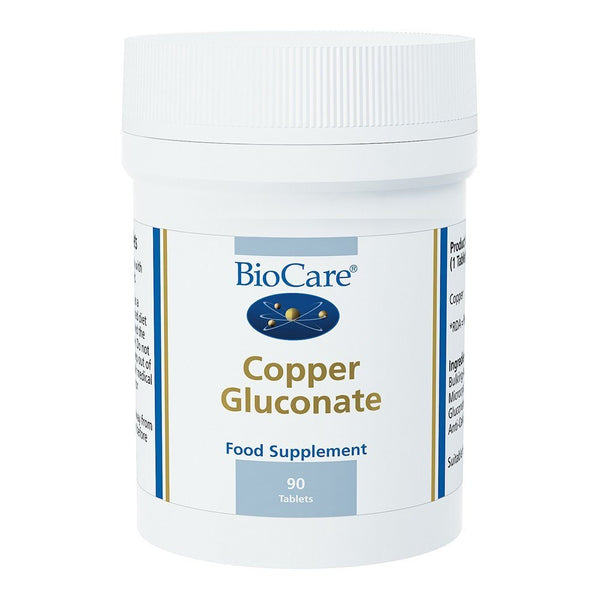 BioCare Copper 1100 mcg 90 Tablets - Lifestyle Labs